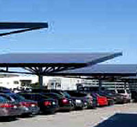 Harnessing the Sun in Parking Lots
