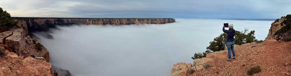 South Rim of Grand Canyons National Par. Photo courtesy of M. Quinn and the National Park Service.