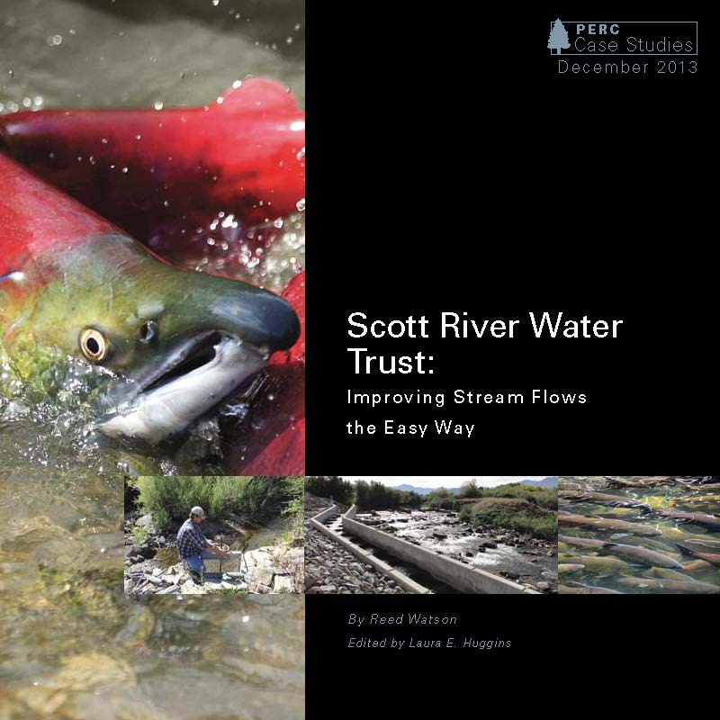 Scott River Water Trust, harnessing water markets to provide habitat for coho salmon