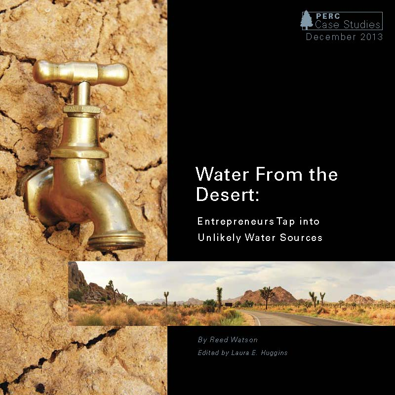 Water from the Desert, Entrepreneurs Tap into Unlikely Source