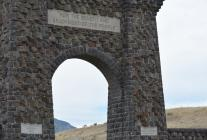 Roosevelt Arch at Yellowstone's North Entrance. Photo courtesy of Claire Kittle Dixon.