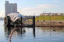Mr. Trash Wheel  in Baltimore, Maryland
